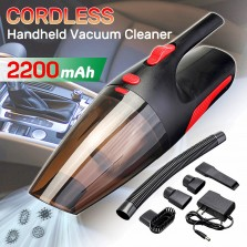 110-240V 120W High Power 5000PA Car Home Vacuum Cordless Portable Wet & Dry Dust Handheld Duster