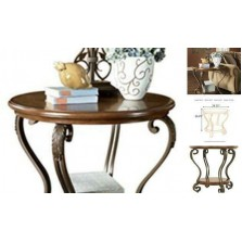 - or Traditional End Table, Medium