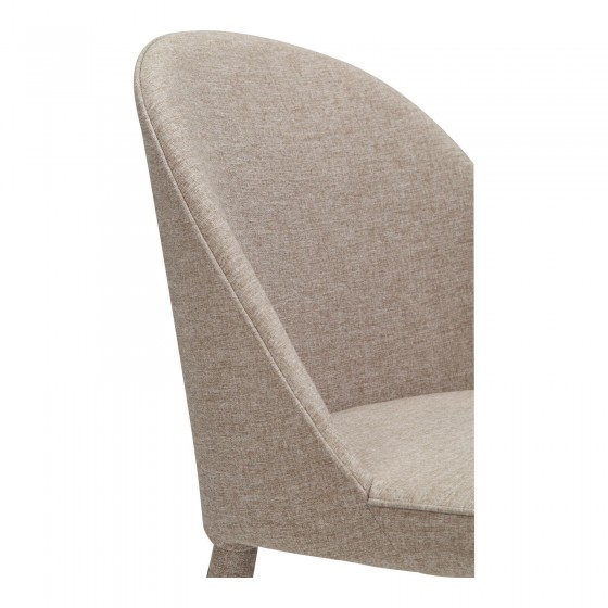 Moe's  Burton Fabric Dining Chair With Blue And Grey Finish YM-1001-26