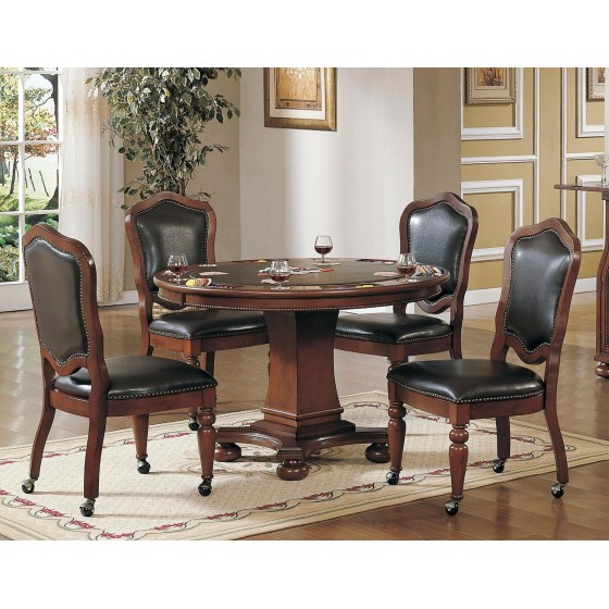 Sunset Trading Bellagio  Set Of 2  Gaming And Dining Chair CR-87148-10-2