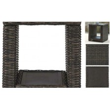 - Grasson  Outdoor Square End Table -
