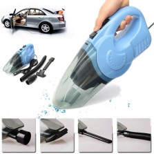 120W 12V Powerful Cordless Vehicles Wet Dry Handheld Vacuum Dirt Dust For Car Home Vehicle Auto Truck Portable 4 Different Attachments and Soft Hose