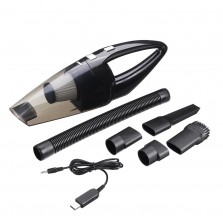 110V 120W Cordless Car Vacuum Cleaner Auto Portable Wet Dry Wireless Handheld Duster